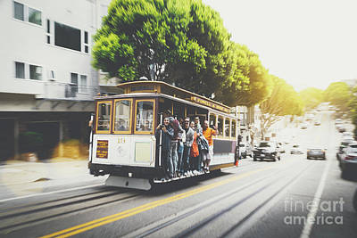 Photograph - San Francisco Rush by JR Photography