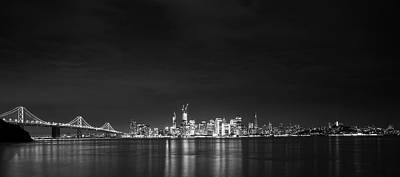 Photograph - San Francisco Skyline At Night by Gej Jones