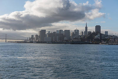 Photograph - San Francisco Skyline by John Johnson