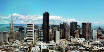 Photograph - San Francisco Skyline by Loc
