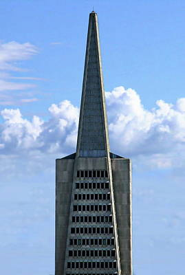 Photograph - San Francisco Skyscraper by Anthony Dezenzio