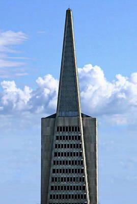 Photograph - San Francisco Skyscraper by Anthony Dezenzio