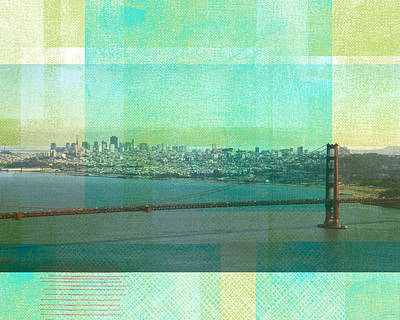 Royalty-Free and Rights-Managed Images - San Francisco Spring- Abstract Ar by Linda Woods