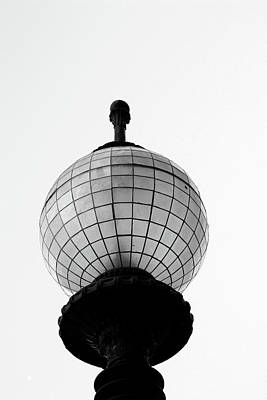 Grids Photograph - San Francisco Street Light- By Linda Woods by Linda Woods