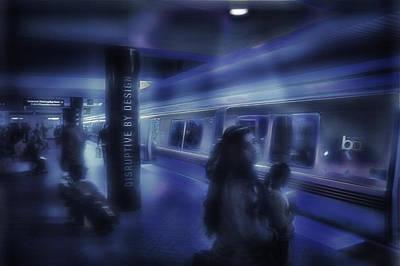 San Francisco Subway 5 - Blue Dream Art Print