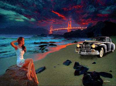 Digital Art - San Francisco Sunrise by Michael Cleere
