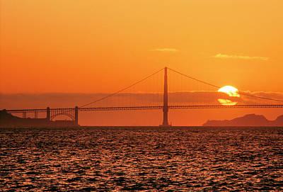 San Francisco Sunset Original by Hans Mauli