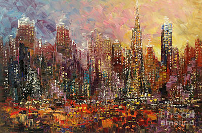 Painting - San Francisco by Tatiana Iliina