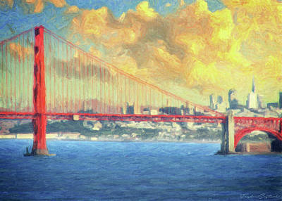Baghdad City Painting - San Francisco by Taylan Apukovska