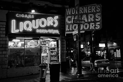 Photograph - San Francisco - The Tenderloin At Night by Carlos Alkmin