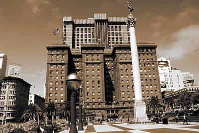 Photograph - San Francisco Union Square - Vintage Art by Peter Potter