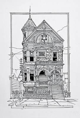 San Francisco Victorians  Art Print