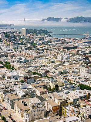 Photograph - San Francisco Vista by Mike Evangelist