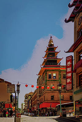 Photograph - San Francisco's Chinatown by Joseph Hollingsworth