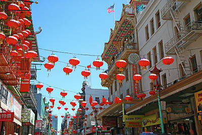 Photograph - San Francisco's Chinatown by Shoal Hollingsworth