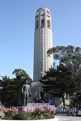 Photograph - San Francisco's Coit Tower by John Telfer