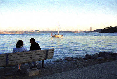 Photograph - San Francisco Bay by Allen Beatty
