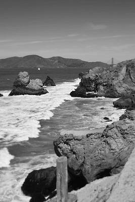 Photograph - San Fransisco Shoreline Cliffs by Glenn McCarthy Art and Photography
