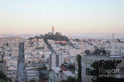 Photograph - San Fransisco Skyline by Wilko Van de Kamp