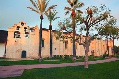San Gabriel Mission California Art Print