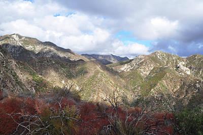San Gabriel Mountains National Monument Art Print