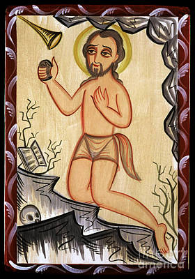 Painting - San Geronimo - St. Jerome - Aoger by Br Arturo Olivas OFS