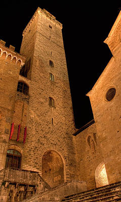 Photograph - San Gimignano by Colette Panaioti