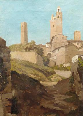 San Gimignano Painting - San Gimignano by MotionAge Designs
