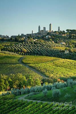 Grateful Dead - San Gimignano Evening by Brian Jannsen