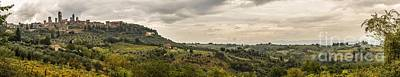 Photograph - San Gimignano Vista by Howard Ferrier