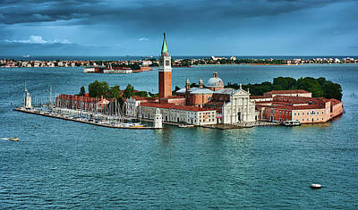 Photograph - San Giorgio Di Maggiore Church In Venice by Eduardo Jose Accorinti