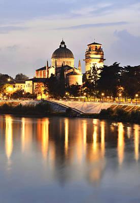 Photograph - San Giorgio In Braida Verona Italy by Marek Stepan