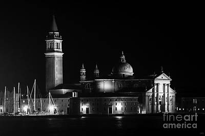 Photograph - San Giorgio Maggiore At Night   by Prints of Italy