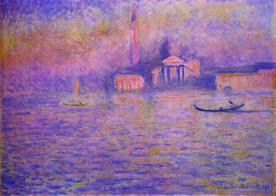 Painting - San Giorgio Maggiore by Claude Monet