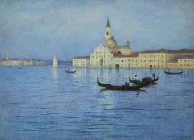 San Giorgio Maggiore Art Print by Helen Allingham