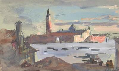 Drawing - San Giorgio Maggiore, Venice by Treasury Classics Art