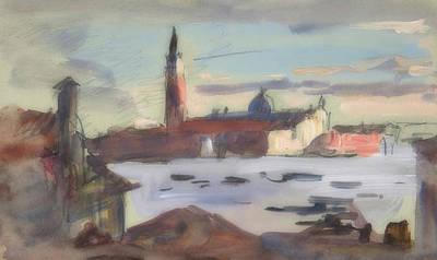 Painting - San Giorgio Maggiore, Venice by Hercules Brabazon