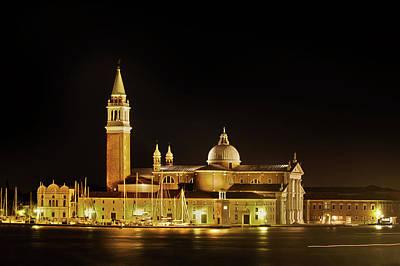 Photograph - San Giorgio Maggiore, Venice by Jean Gill