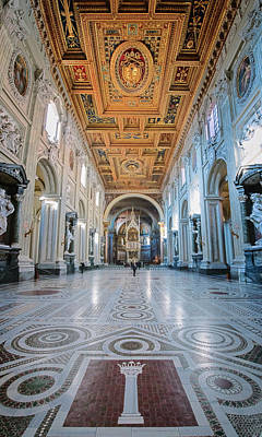 Photograph - San Giovanni In Laterano Rome Italy by Joan Carroll