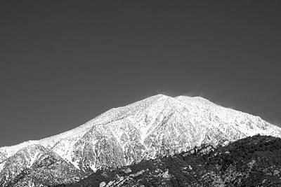 Photograph - San Gorgonio Mountain Yucaipa 2016 by William Kimble