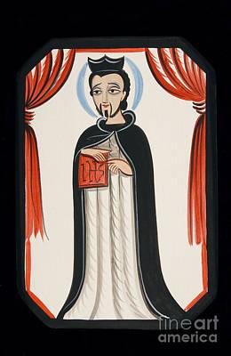 Painting - San Ignacio De Loyola - St. Ignatius Of Loyola - Aoigt by Br Arturo Olivas OFS
