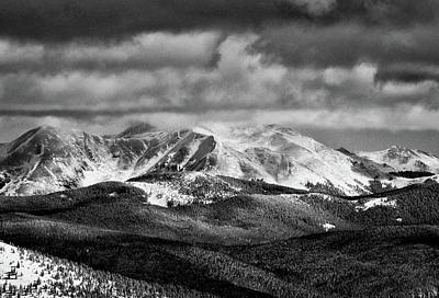 Photograph - San Isabel Peaks by Kevin Munro