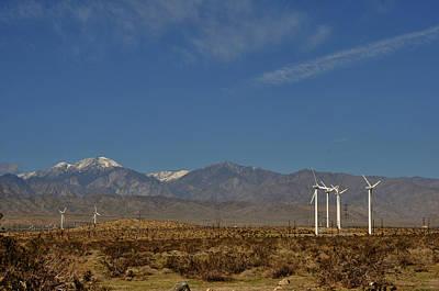 Photograph - San Jacinto Mountains California by Diane Lent