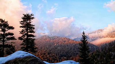 Great Outdoors Digital Art - San Jacinto Mountains - California by Glenn McCarthy Art and Photography
