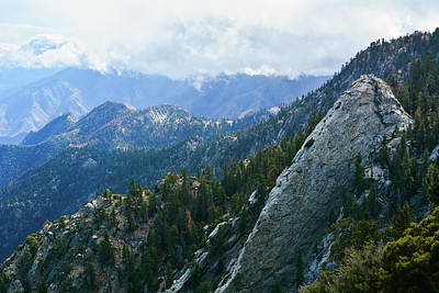 Photograph - San Jacinto Mountains Vista by Kyle Hanson