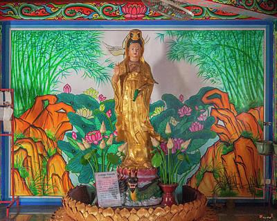Photograph - San Jao Dahmmasathan Quan Im Quan Im Image Dthcm1080 by Gerry Gantt