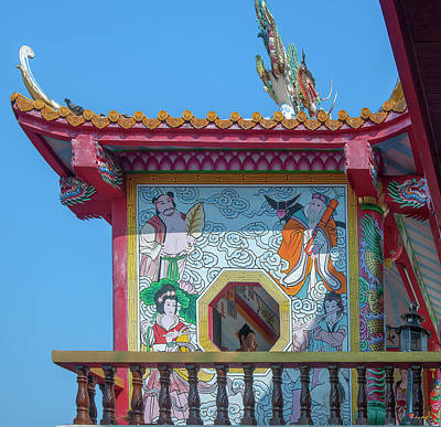Photograph - San Jao Dahmmasathan Quan Im Side Pavilion Dthcm1072 by Gerry Gantt