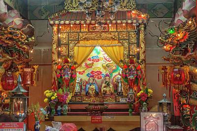 Photograph - San Jao Pung Tao Gong Altar Dthcm1148 by Gerry Gantt