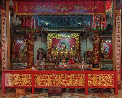 Photograph - San Jao Samphothi Yan Altar Dthb2003 by Gerry Gantt