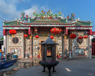 Photograph - San Jao Samphothi Yan Chinese Shrine Dthb1992 by Gerry Gantt